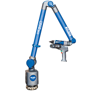 FARO's Design ScanArm 2.0 is a portable 3D scanning solution for 3D modeling, reverse engineering and similar CAD-based design applications as well as tasks like rapid prototyping, digital archiving and MRO (maintenance, repair and overhaul). Image courtesy of FARO.