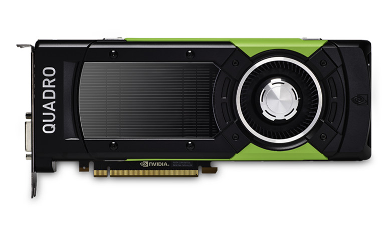 Powered by NVIDIA Volta the new NVIDIA Quadro GP100 is designed to meet the demands of real-time ray tracing, AI, simulation and visualization workflows. Image courtesy of NVIDIA.