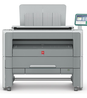 Océ PlotWave 345 large-format printer. Image courtesy of Canon Solutions America.