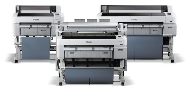 SureColor T-Series family of large-format printers. Image courtesy of Epson.